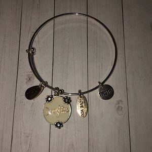 """Jewelry - Alex and Ani Style """"Daughter"""" Bracelet"""